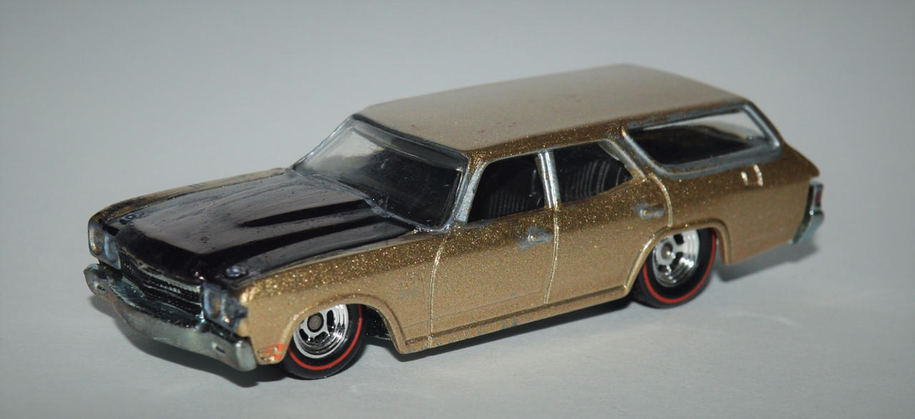 1970 Chevrolet Chevelle Nomad Station Wagon by humloch