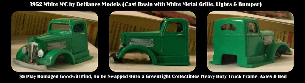 1952 White WC Truck Work-In-Progress by humloch