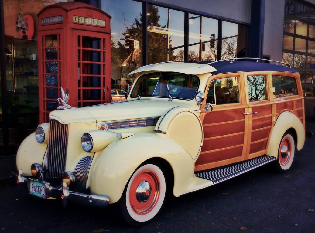 1940 Packard 110 Woodie Wagon Restomod 1 by humloch on DeviantArt