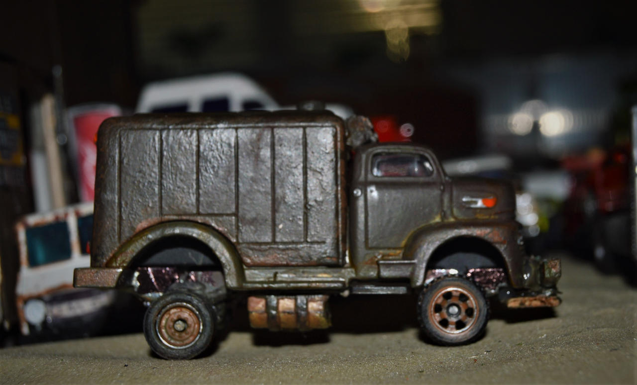 Custom Diecast Jeepers Creepers Truck 2 by humloch on DeviantArt