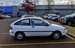 1997 Ford Aspire 6 (Base Model/Polar White)