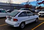 1997 Ford Aspire 7 (Base Model/Polar White)