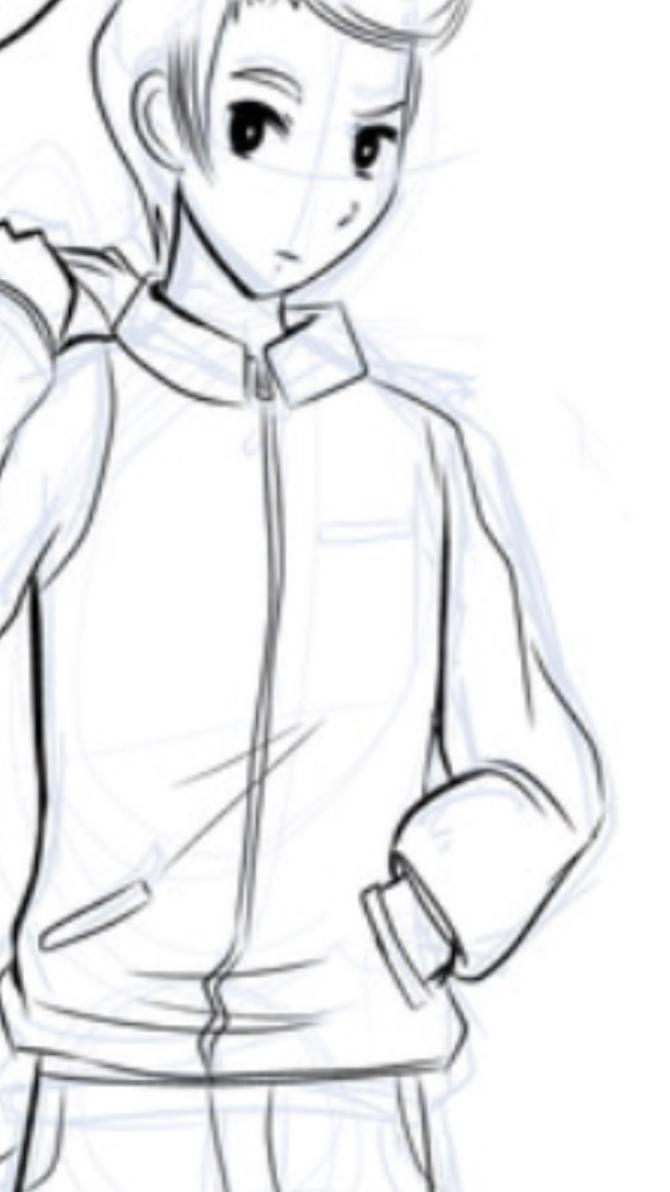 Juniper the Manga Boy by TwistedFate101