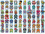 Mega Man bosses, 1-8