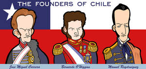 Chile's founding fathers