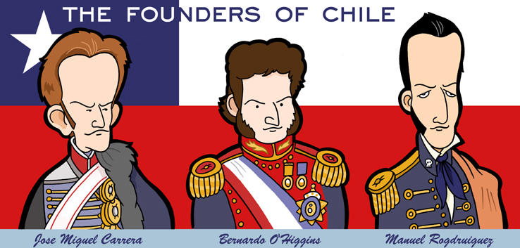 ¡Felices fiestas patrias! Chile__s_founding_fathers