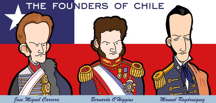 ¡Felices fiestas patrias! Chile__s_founding_fathers