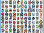 Every Mega Man boss... ever