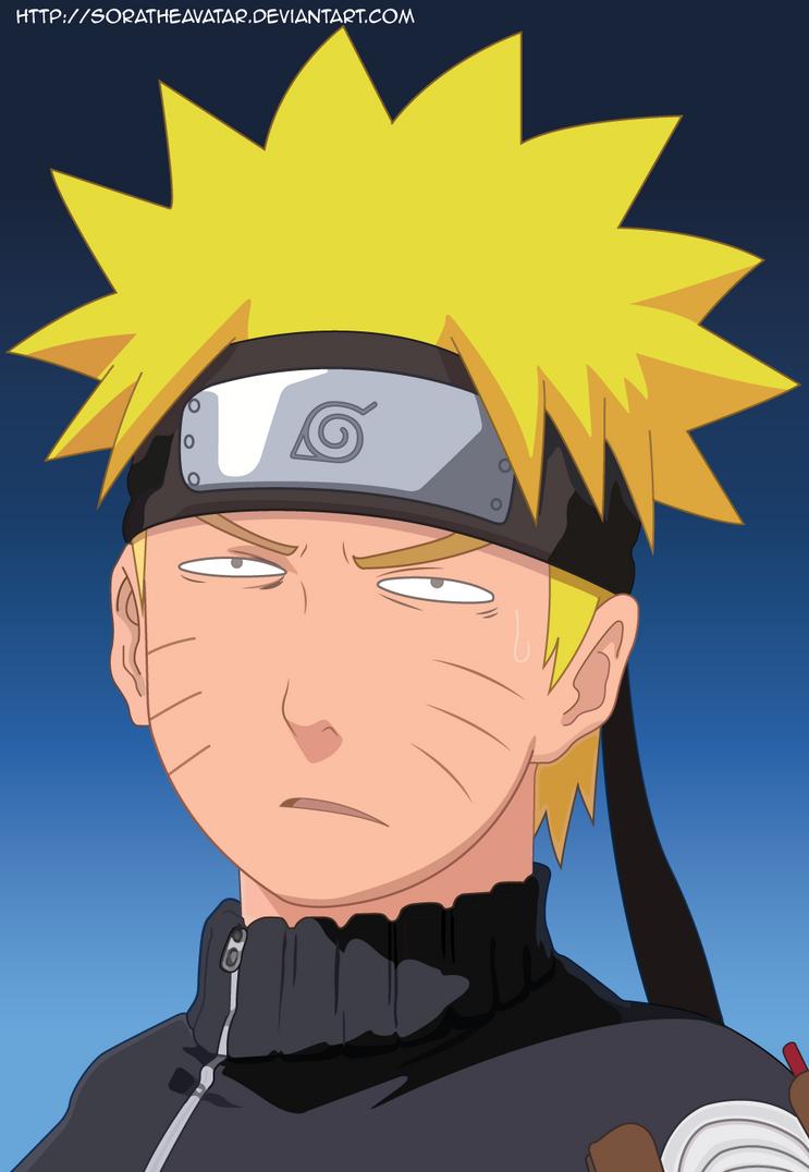 Naruto Colored by SoraTheAvatar