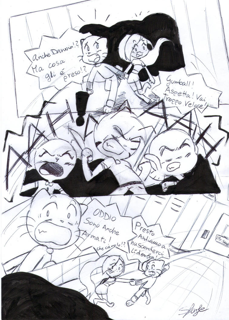 I'M HERE-comic- pg. 35 by SfinJe