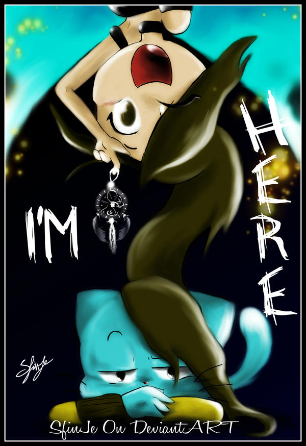 I'M HERE-Cover-Colored by SfinJe