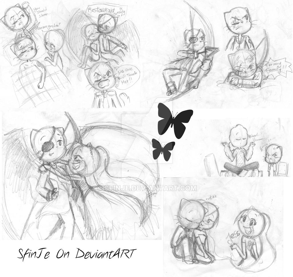 random sketches by SfinJe