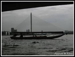 Bridge + boat = sailboat???