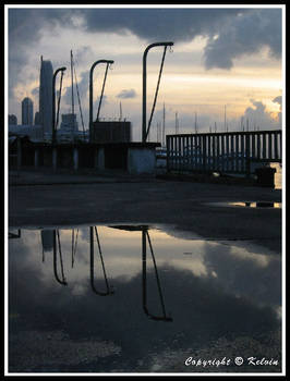 Reflection of poles