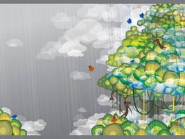 Jungle 2.0 Wallpaper by moiret