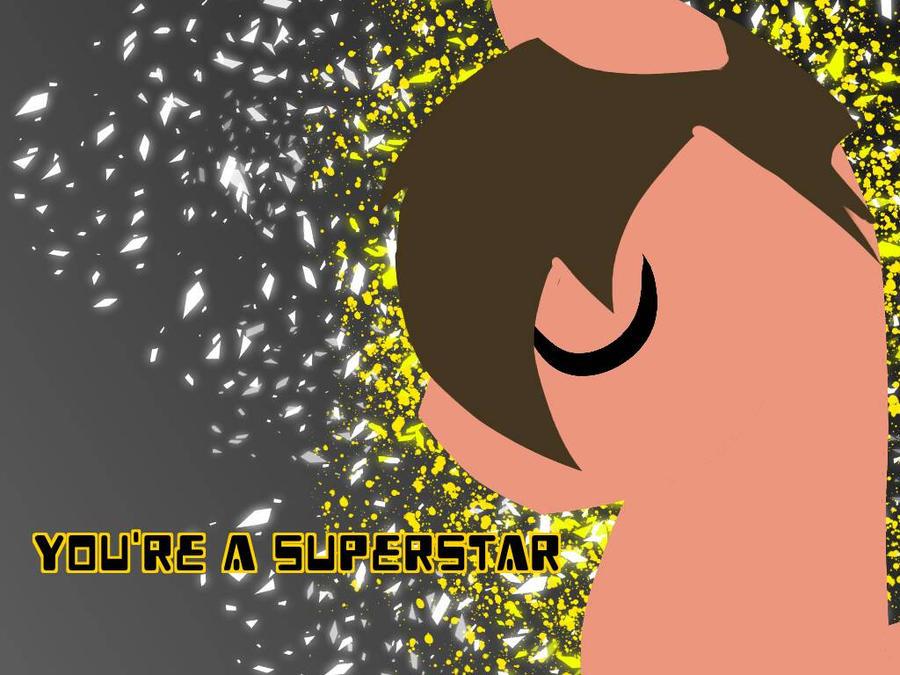 Simplified Superstar Wallpaper by ponymiku