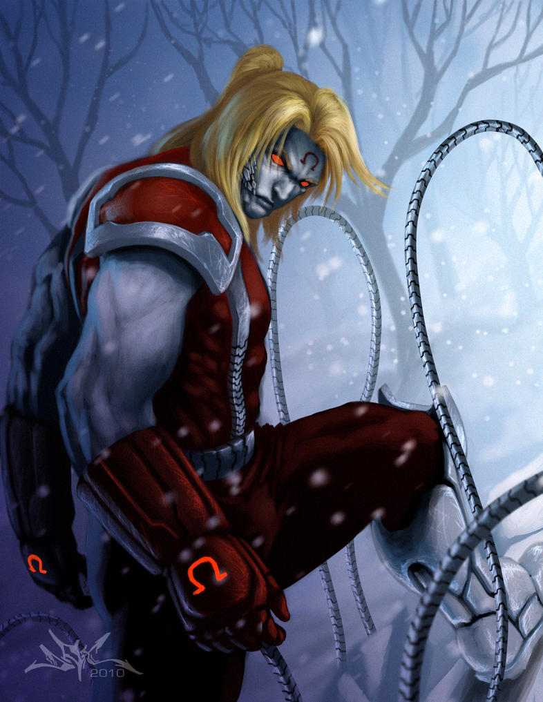 Omega Red by osiris999