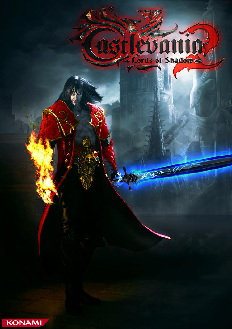 Castlevania 2 Lords Of Shadow Dracula Wallpaper By Chaos217