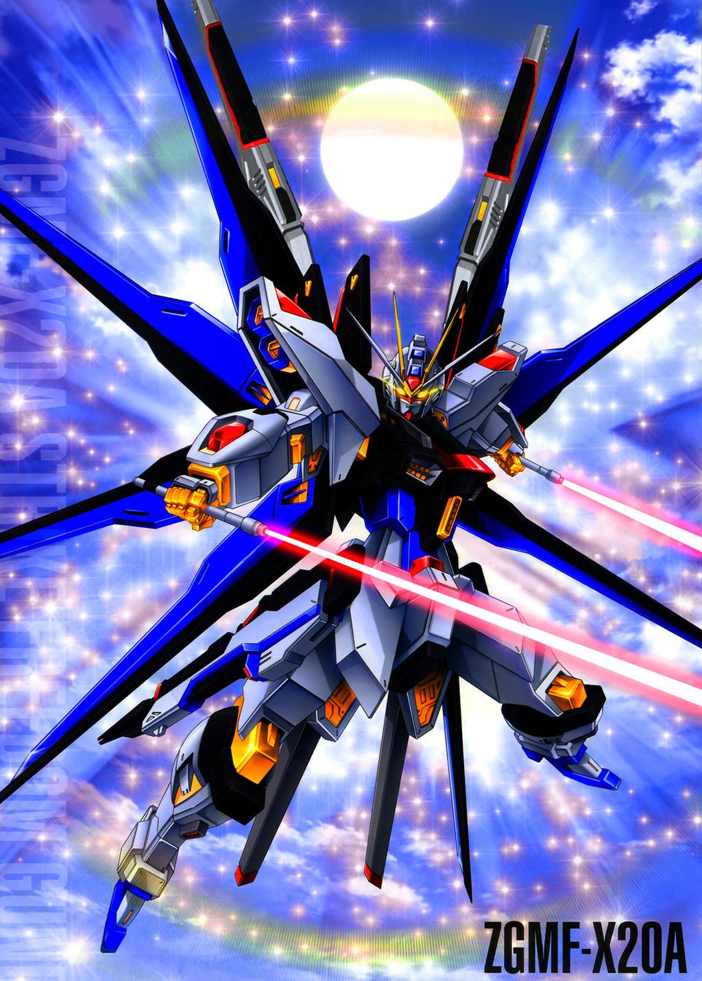 Gundam strike freedom wallpaper hd