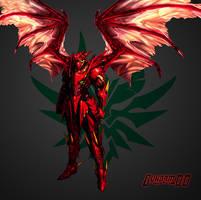 Red-Dragon God Emperor [Gundam-DxD: Ragnarok] by Chaos217