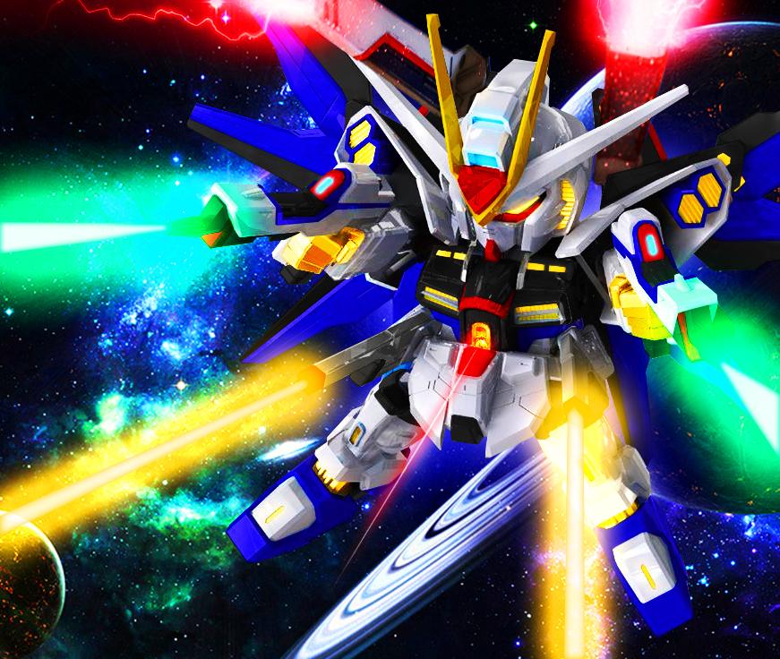 SD-EX Strike Freedom [Ver  JeT] by Chaos217 on DeviantArt
