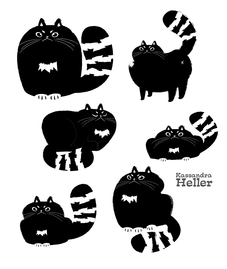 Grumpy cat designs by KassandraHeller