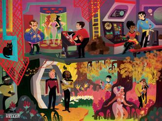 Star Trek by KassandraHeller