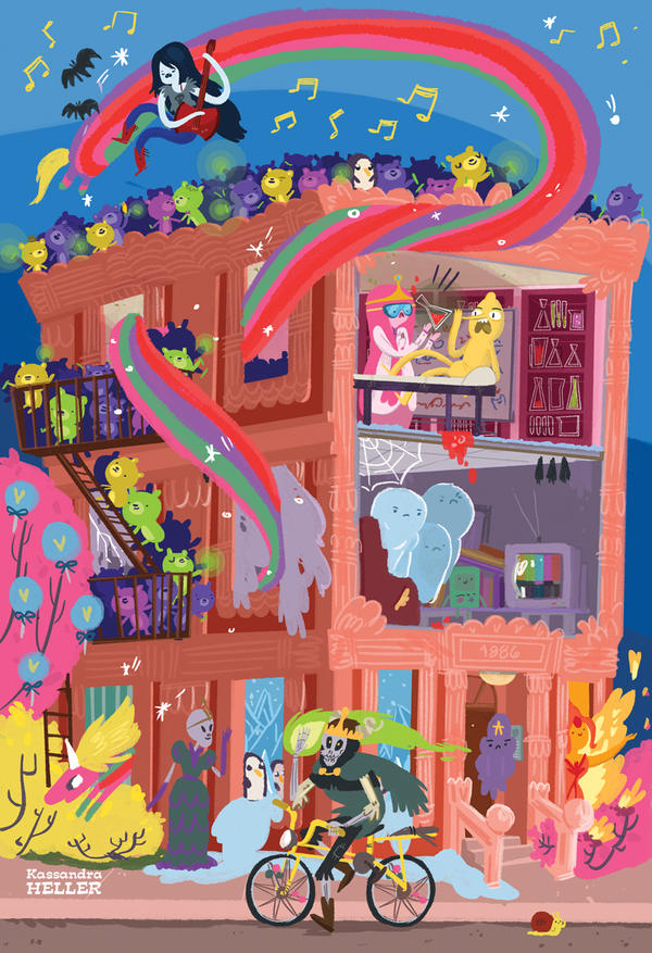 Apartment in the Land of Ooo by KassandraHeller