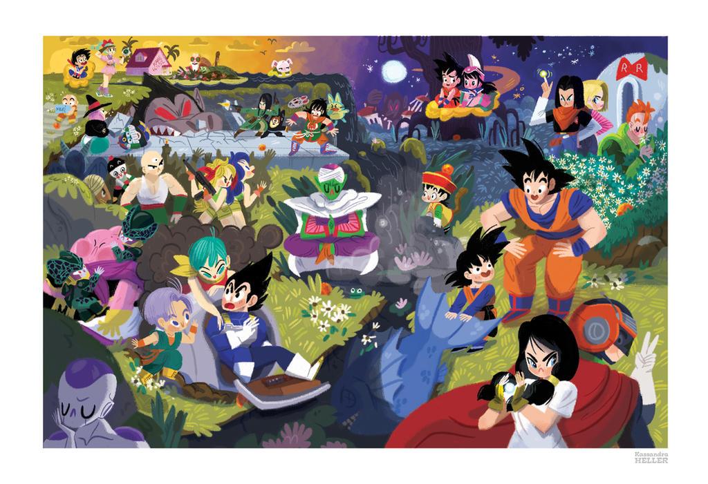 Akira Toriyama tribute show at QPop by KassandraHeller