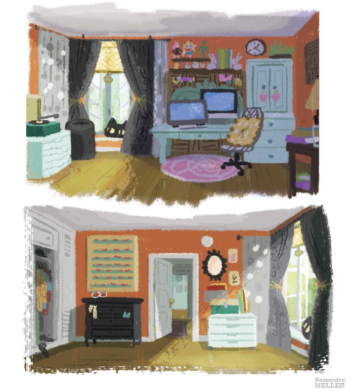 Studio/Bedroom by KassandraHeller
