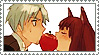 Spice and Wolf stamp by NightmareNurse