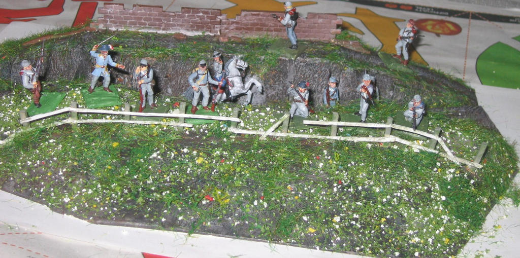 Defence of the sunken road by AgProv