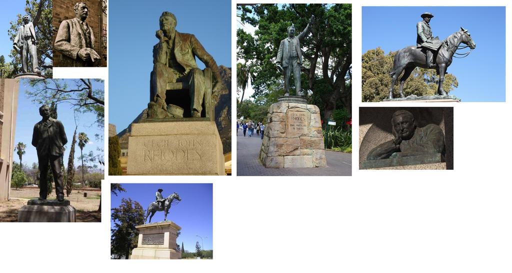 sir Cecil - statues by AgProv