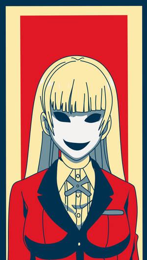 Ririka Momobami Metal Poster Anime