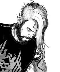 Inktober - Punk Hawke