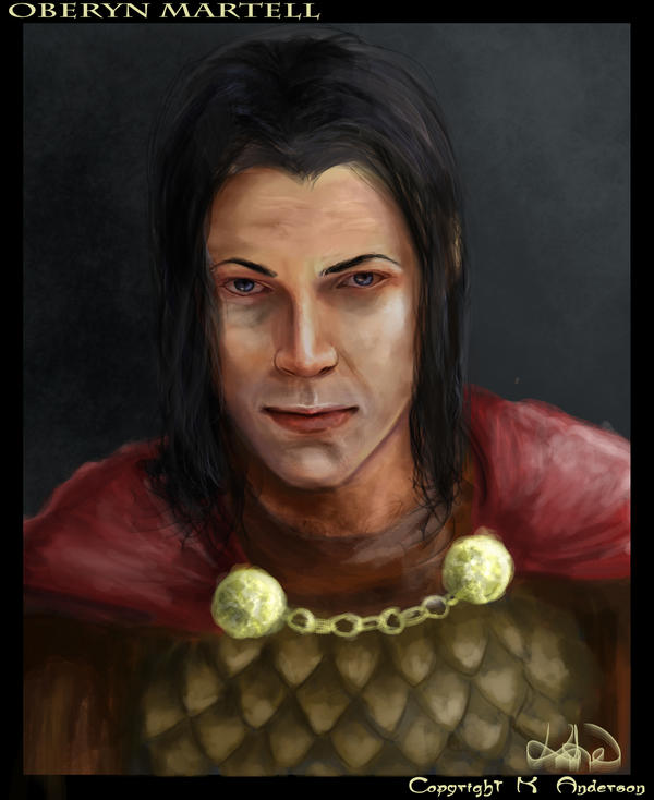 Sketch Commish: Oberyn by Senekha