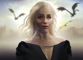 Daenerys Stormborn by Senekha