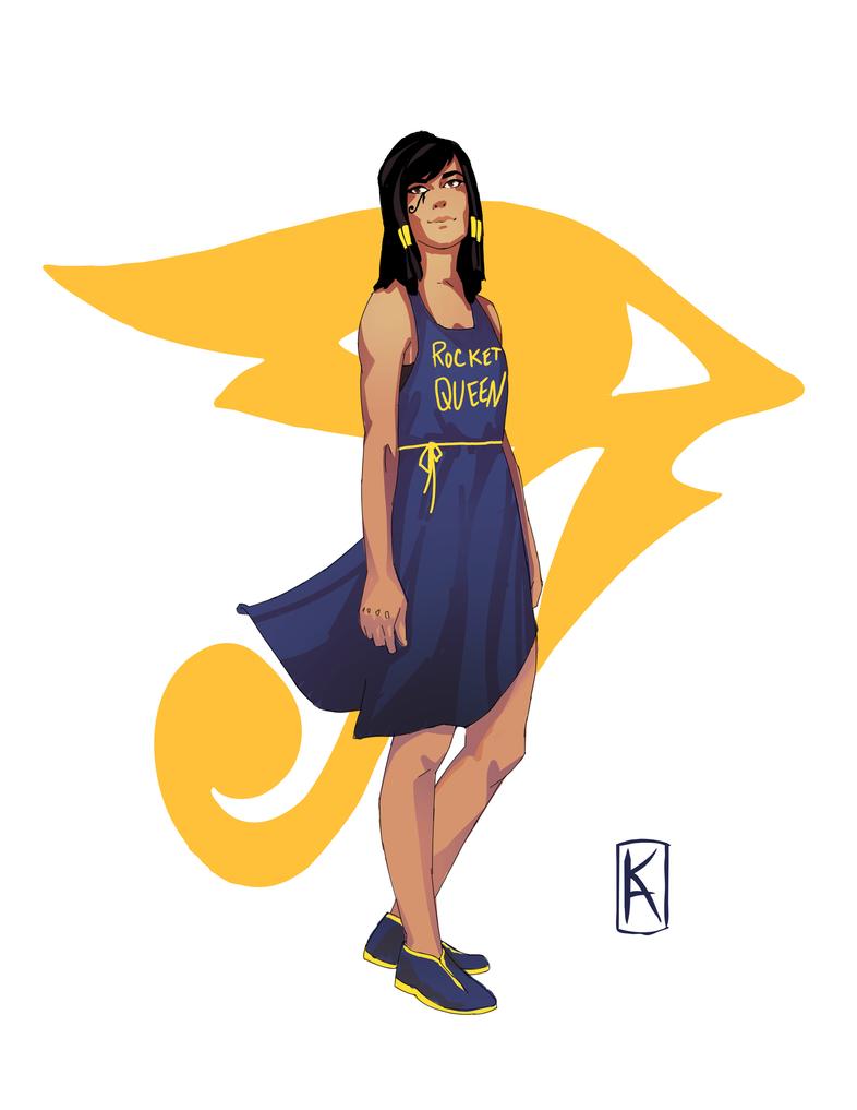 Rocket Queen by Senekha