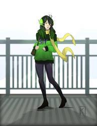 Mantis Girl