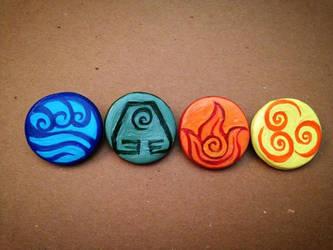 Avatar Nation Pins