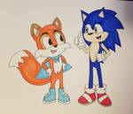 Sonic and Lucky