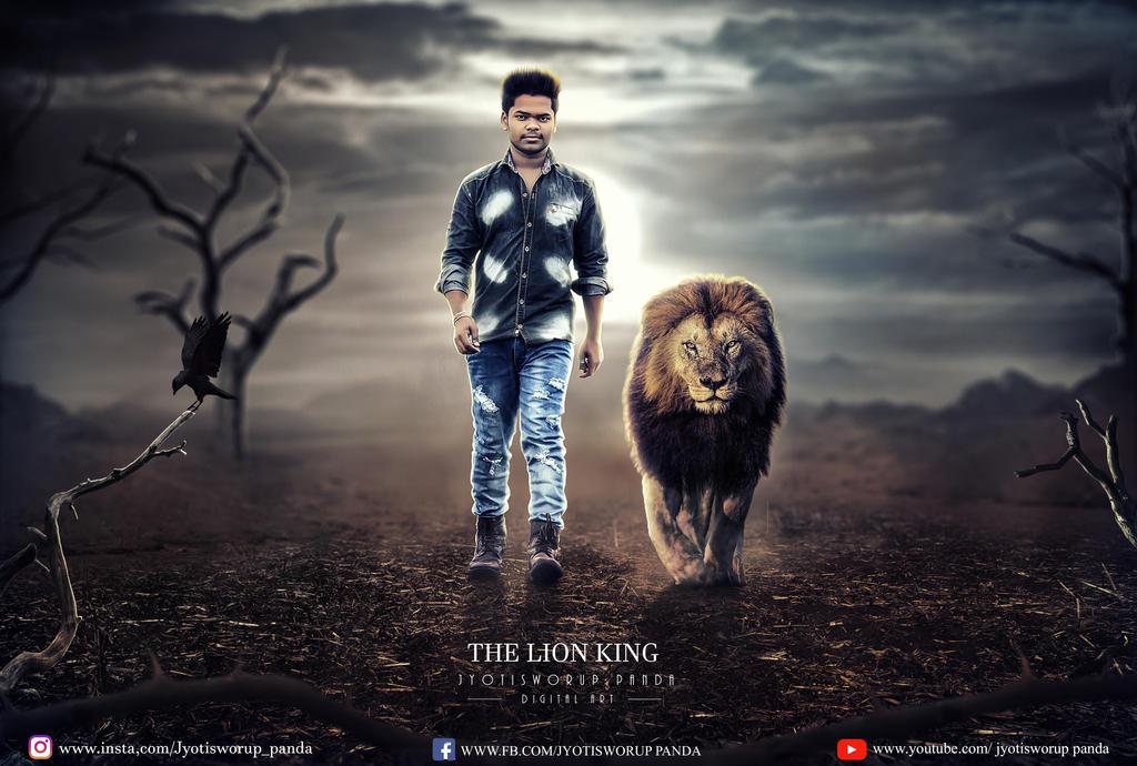 the lion king by jyotisworup-panda