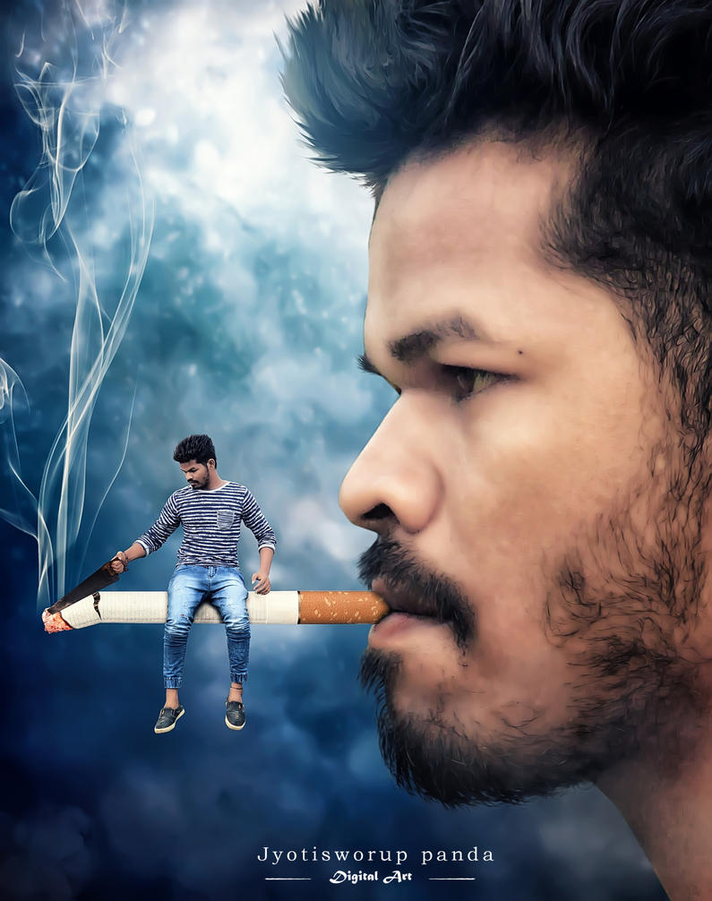 Don't Smoke by jyotisworup-panda