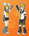 Len + Rin Kagamine