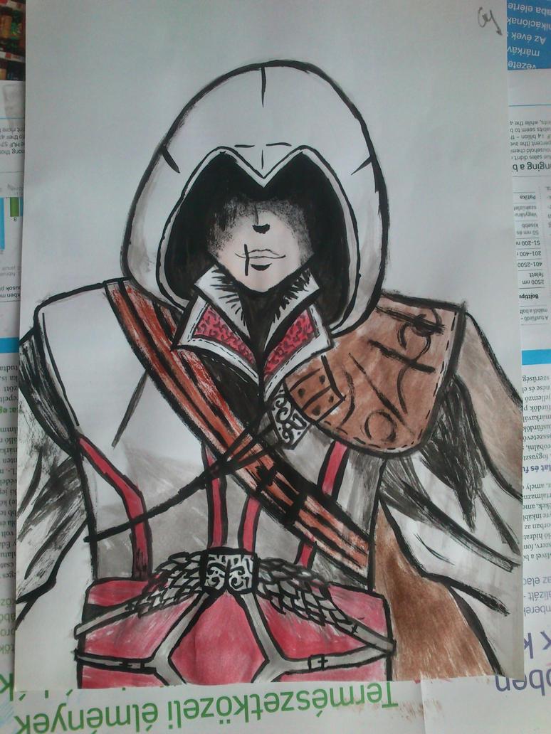 Ezio Auditore da Firenze by Anonymous---Lucifer