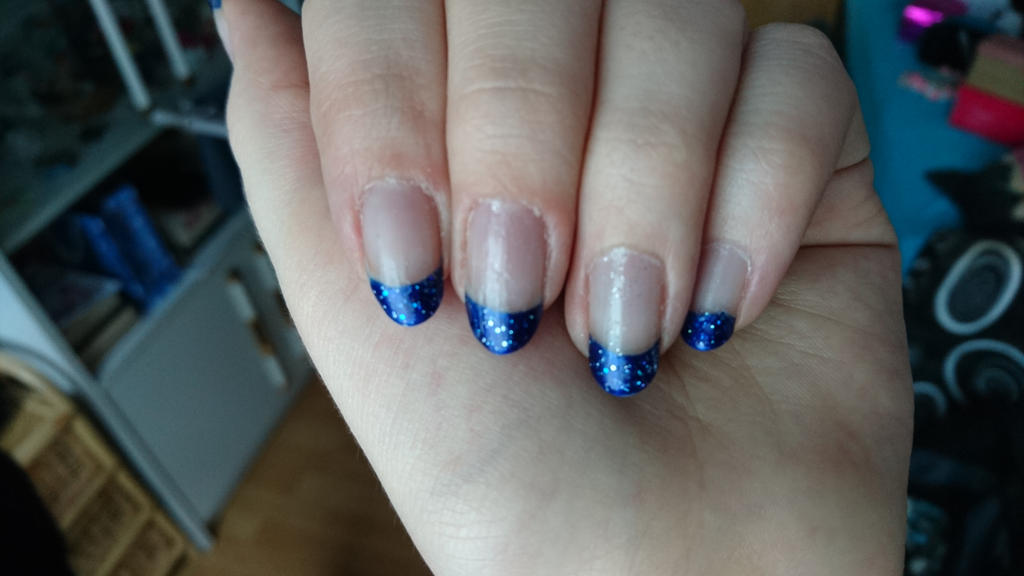 Prom nail design by Anonymous---Lucifer