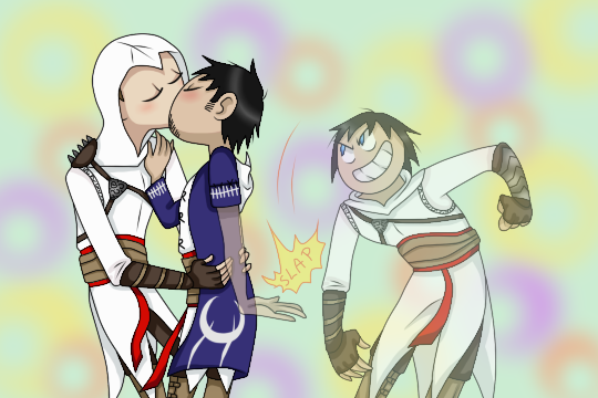 Altair x Malik.... and Kadar by Anonymous---Lucifer