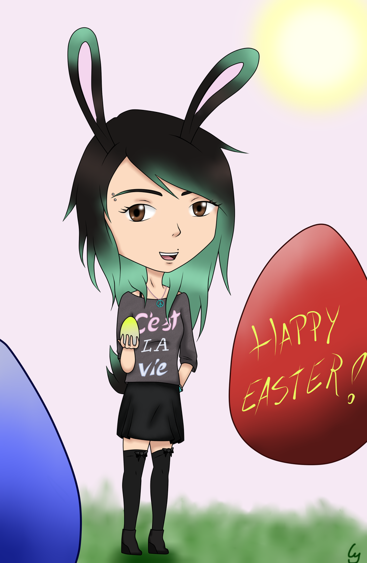 Happy Easter! by Anonymous---Lucifer