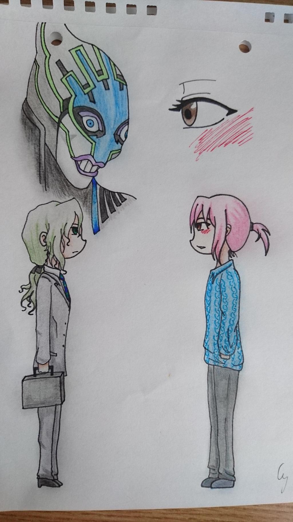 Makoto x Yuri by Anonymous---Lucifer