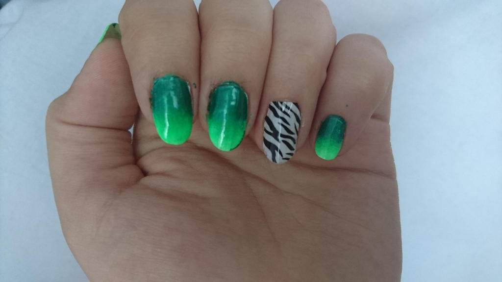 Safari nails by Anonymous---Lucifer